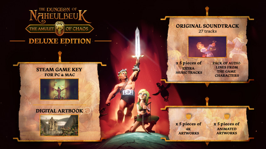 Состоялся релиз The Dungeon of Naheulbeuk: The Amulet of Chaos